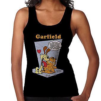 Garfield & Odie Lick Classic 80s Women's Vest