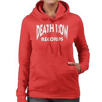 Death Row Records Logo witte vrouwen Hooded Sweatshirt