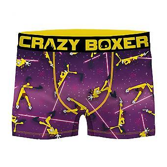 Goofy Movie Purple Powerline E5000 Hombres's Boxeador Breves