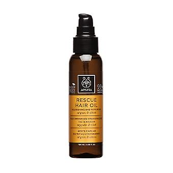 Nourishing and Repairing Hair Oil With Argan and Olive 100 ml