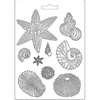Stamperia Soft Mould A4 Shells