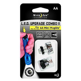 Niteize LED + queue switch kit - ampoule Mini AA Maglite LED upgrade 30 lumen
