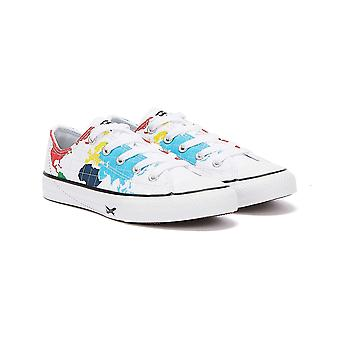 Converse All Star Worldwide Ox Junior White Trainers