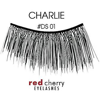 Red Cherry Demi Lashes - #DS01 Charlie - Handmade with Real Human Hair