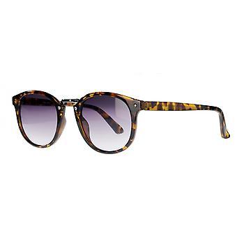 نظارات شمسية Unisex Cat.2 براون سلحفاة / الدخان (amm19107b)