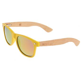 Lunettes unisexes Hawaii Burner clair / jaune