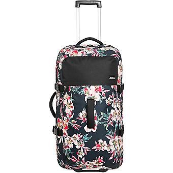Roxy Fly Away Too Wheeled Luggage in Anthracite Wonder Garden S
