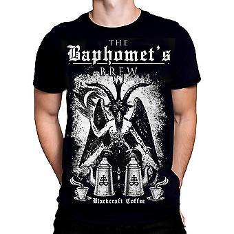Blackcraft cult - baphomet brew - men's t-shirt
