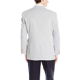Nautica miesten ' s PIN johto puku erillinen takki, sininen/valkoinen, 44 pitkä