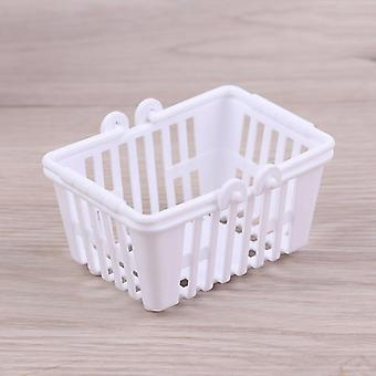 Shopping Basket Pretend Play Kids- Mini Supermarket Shopping Hand Basket Model