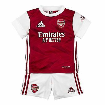 2020-2021 Arsenal Adidas Home Baby Kit