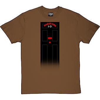 Rashford Number 10 Chestnut Miehet's T-paita