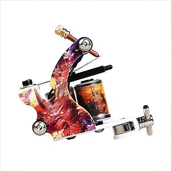 Beginner Complete Tattoo Kit Supplies With 2 Machine Guns 20 Color Inks Power Supply Needles Grip Tip Set