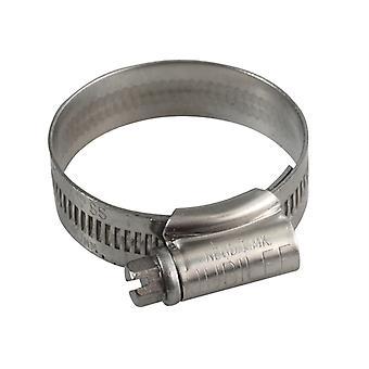 Jubilee 1X Stainless Steel Hose Clip 30 - 40mm (1.1/8 - 1.5/8in) JUB1XSS
