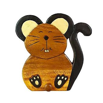 Wooden Wall Hooks Mouse