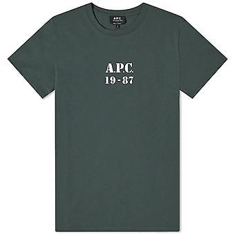 A.p.c Apc Stamped Logo T-shirt