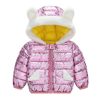 Winter Baby Girl Boys Jackets Snowsuit Coat Warm Velvet Outerwear