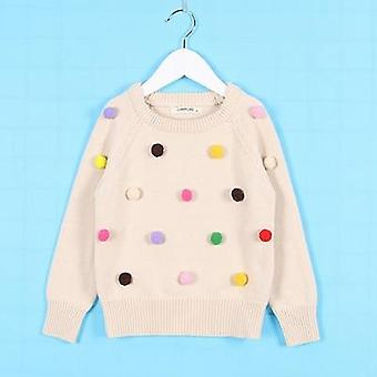 Lovely Baby Sweater, Hello Letter, O-neck, Long Sleeved Casual Tops Set1