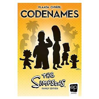 Codenames Simpsons Board Game