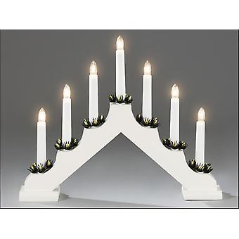 Konstsmide 7 Bulb Welcome Light White 2262-210