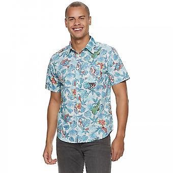 Marvel Avengers Button Ylös Havaijin paita