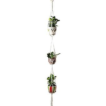 Handmade Macrame Plant Hanger, Holder Flower Pot