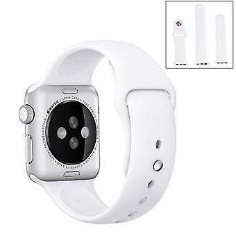For Apple Watch 42mm Silicone Sport Watch Band