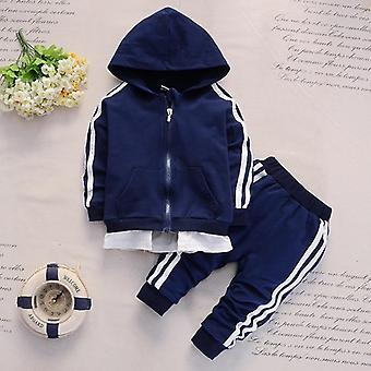 Cotton Sports Jacket Pants- Toddler Fashion Clothing Tracksuits