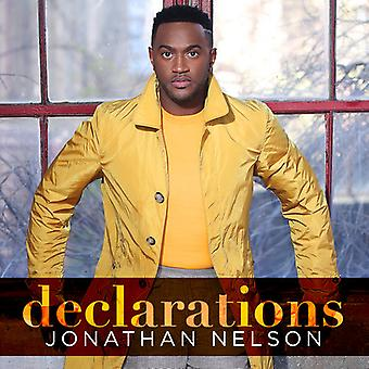 Nelson*Jonathan - Declarations [CD] USA import