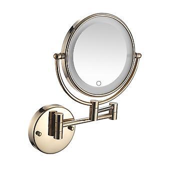 10x LED-lyset väggmonterad spegel plug-in