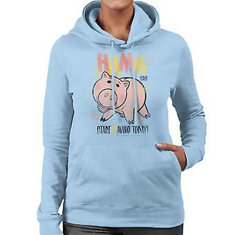 Pixar Toy Story Hamm Start Saving Today Women's Hooded Sweatshirt