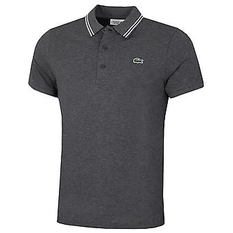 Lacoste Herren 2021 Sport Kontrast Akzent leichte Baumwolle Polo Shirt