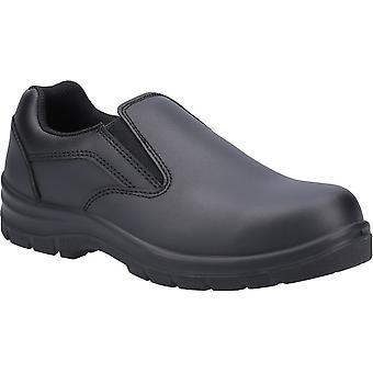 Amblers سلامة النساء AS716C الجلود زلة على أحذية السلامة