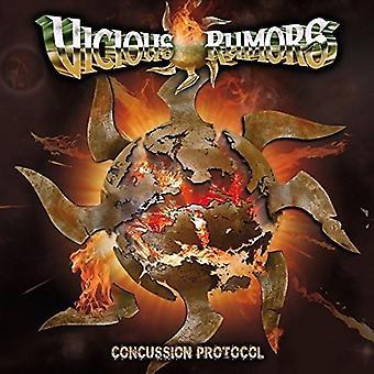 Vicious Rumors - Concussion Protocol [CD] USA import