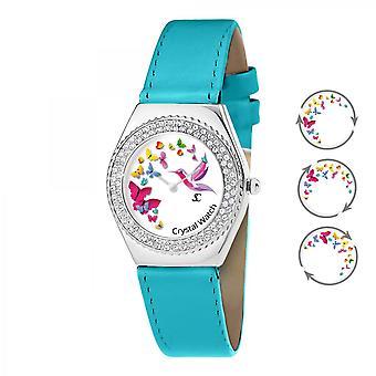 Reloj de mujer So Charm MF316-PAPILLON-COLIBRI-BLEU