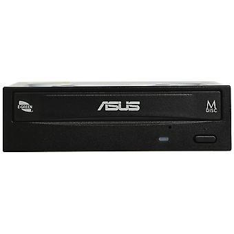 Asus drw-24d5mt interne DVD super multi dl negru cd +/-rw, dvd+/-rw, dvd dl, 4-24 x, 145 ms DVD cu