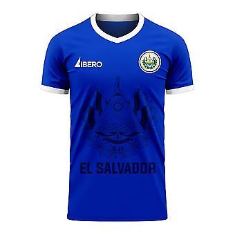 El Salvador 2020-2021 Home Concept Football Kit (Libero)