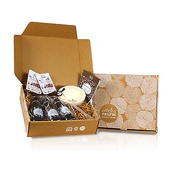 Protected leather gift box 1 unit