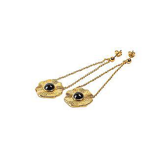 Kosma Paris Flora Women's Earrings - Black Dor
