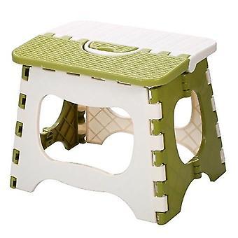 plast bærbar sammenleggbar krakk / liten stol, hjemmemøbler barn praktisk