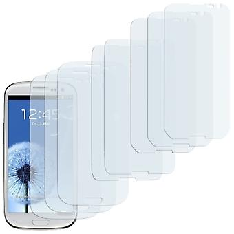 8 X Screen Protector Samsung Galaxy S3