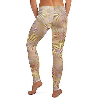 Art Deco Abstract Seamless Leggings