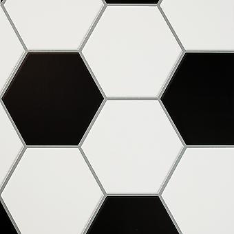 Voetbal doel Wallpaper Mono Arthouse 909201