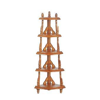 Nuket Talo Miniatyyri Huonekalut Viktoriaaninen Mahogany Corner Etagere Mikä-ei seiso