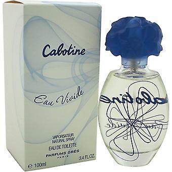 Gres Parfums Cabotine Eau Vivide Eau de Toilette Spray for Women 100 ml