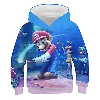 Fashion 3d Print Soft Child Hoodie Cartoon Clothing Hooded Sweatshirt For Adult