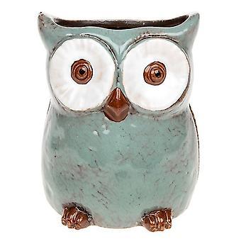 Village Pottery Owl Planter Large