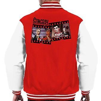 Stingray Marina And Troy Tempest Film Roll Men's Varsity Jacket
