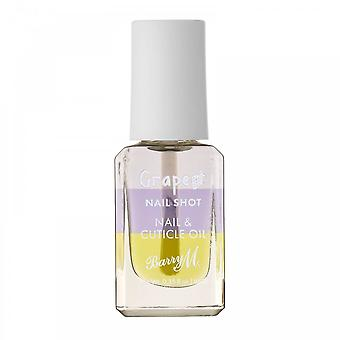 Barry M 3 X Barry M Nail Shot Nail & Cuticle Oil - Grape