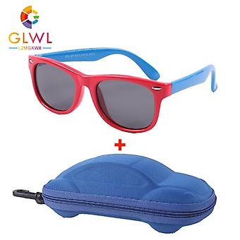 Polarized Elastic Frame Eyewear Car Case Sunglass